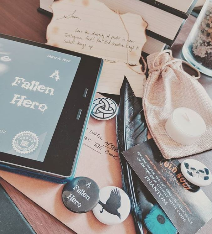 A Fallen Hero #bookstagram by @mrseanbooks