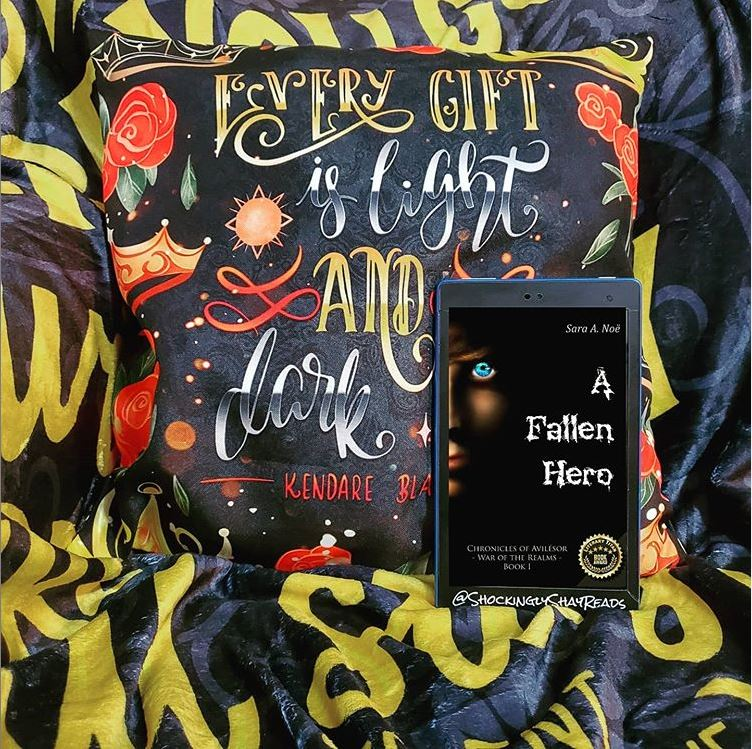 A Fallen Hero #bookstagram by @shockinglyshayreads