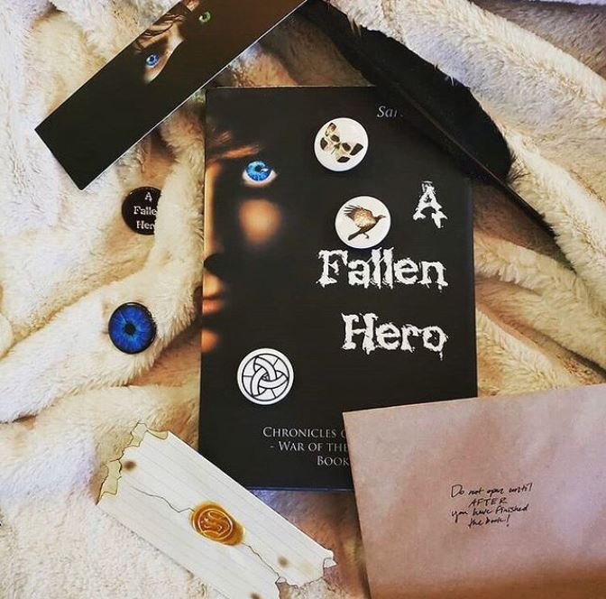 A Fallen Hero #bookstagram by @cmar_reads