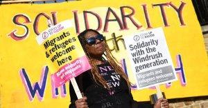 Windrush Generation solidarity march