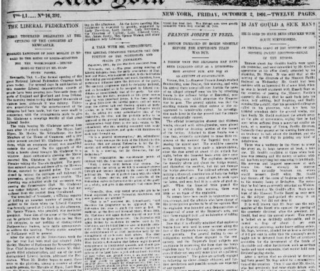 New York Tribune New York N Y 1866   Chronicling America Library Of Congress