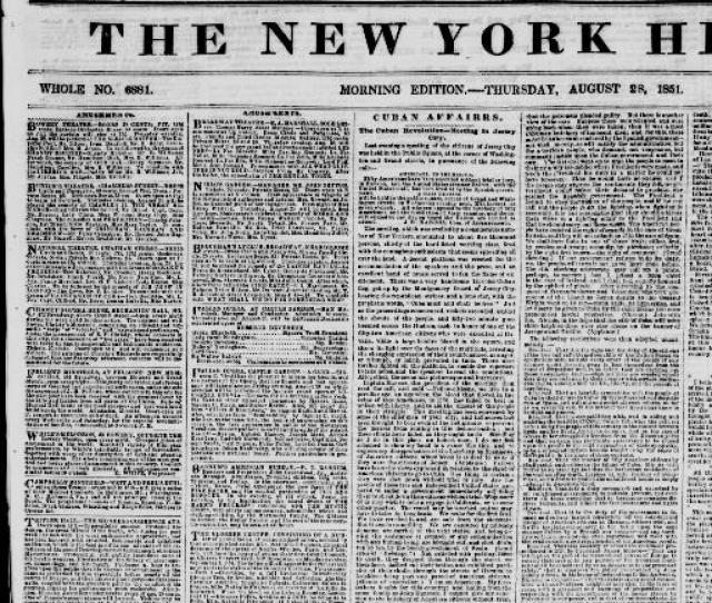 The New York Herald New York N Y 1840   Chronicling America Library Of Congress