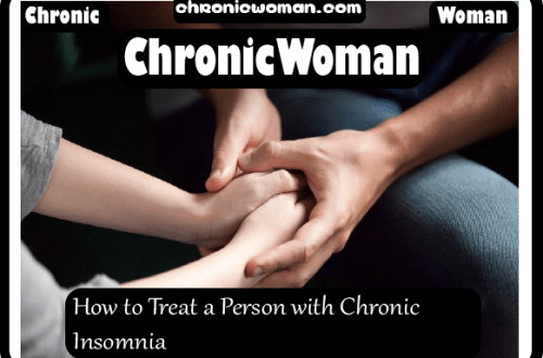 How to Treat a Person with Chronic Insomnia