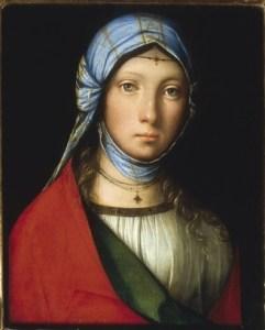 """""""La petite bohémienne""""Boccaccio Boccacino, 1505"""