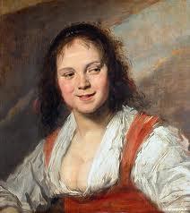 """""""La Bohémienne""""Frans Hals, 1630"""