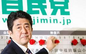 Un nom à retenir:SHINZO ABE