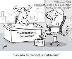 Ainsi, pourquoi voulez-vous travailler pour nous?