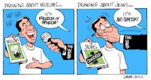Deux poids, deux mesures de la liberté d'expression...