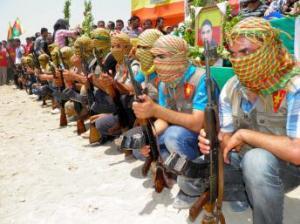 Combattants al-Qaida en Syrie