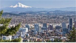 Portland et le Mt Hood