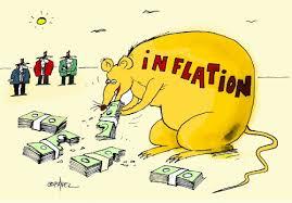 Dernière étape: l'inflation dévore vos économies et votre pouvoir d'achat.