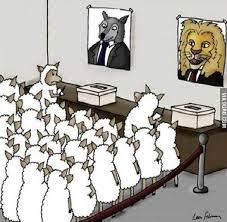 Dans la Démocratie Parlementaire, c'est à vous de choisir celui qui va abuser de votre bonne foi.