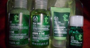 L'arbre à thé chez The Body Shop