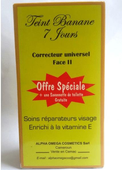 TEINT BANANE 7 jours Correcteur universel Face II Soins réparateurs visage Image