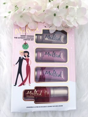 packaging noel 2017 too faced melted