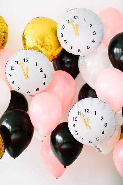 Une décoration de fête pour le Nouvel An
