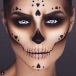 maquillage-coeur-halloween