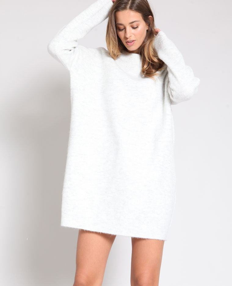 robe pull gris chiné pimkie