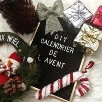 DIY calendrier de l'avent pour attendre Noël