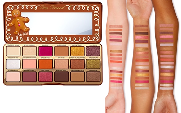 palette gingerbread spice too faced