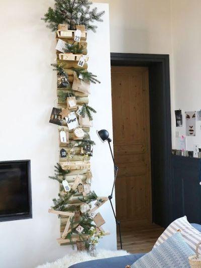 calendrier de l'avent DIY bois