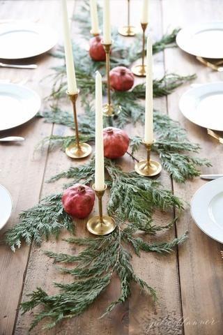 table-noel-sapin