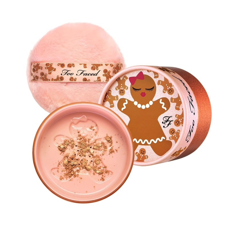 poudre scintillante too faced noel 2019