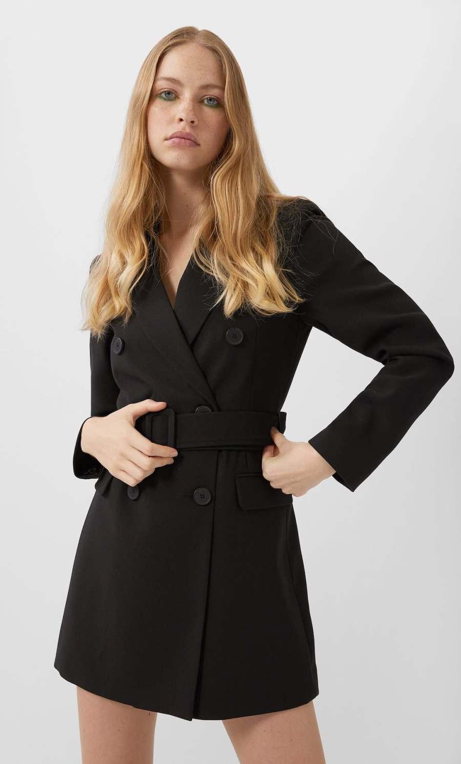 robe ceinture noir