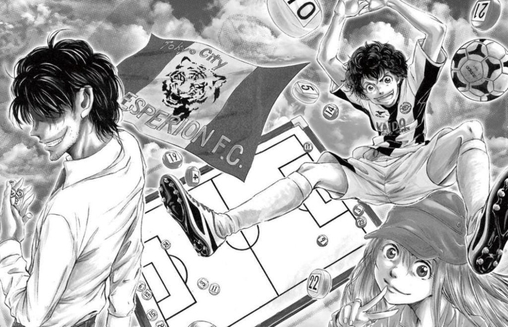 Ao Ashi T1 - T2 - Chroniques Comics - Votre site de chroniques Comics, BD, Manga.