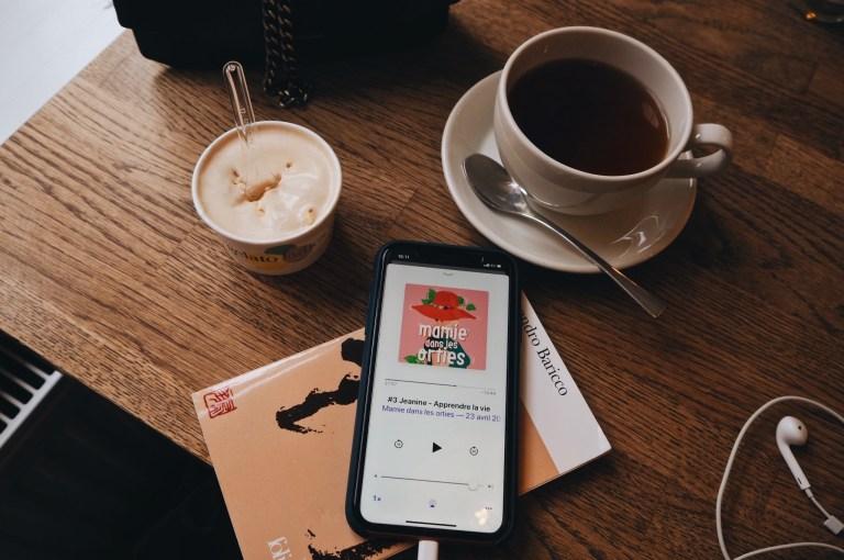 J'ai découvert les podcasts