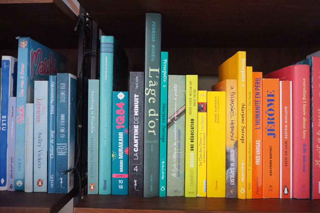 L'organisation de ma bibliothèque