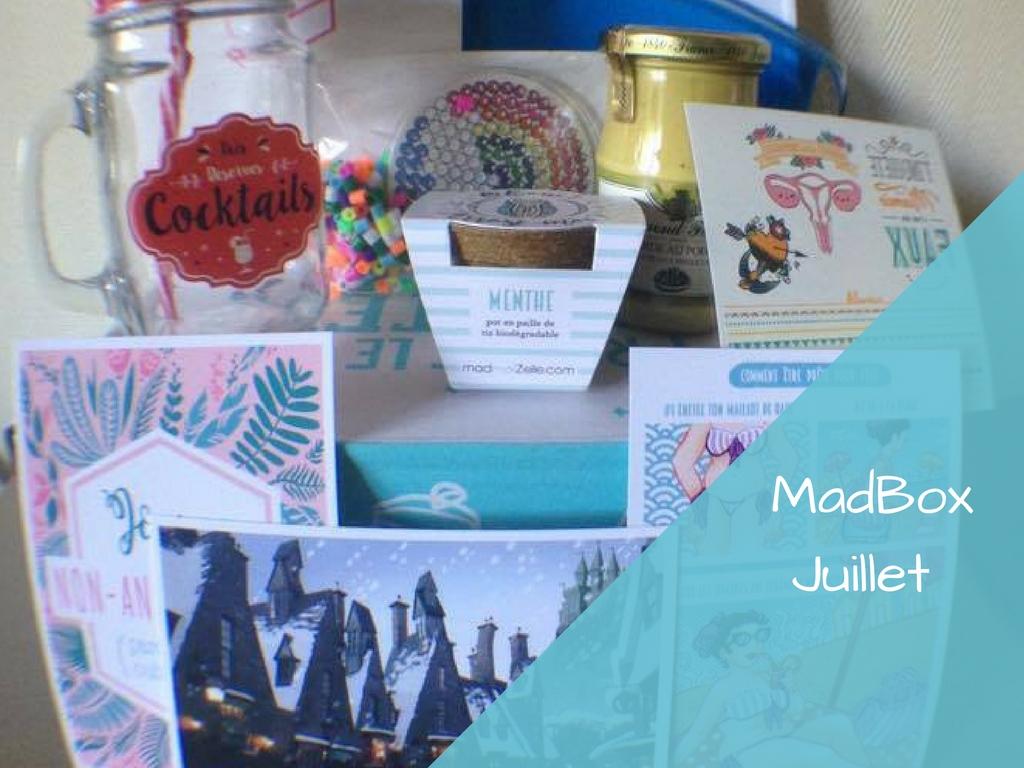 La MadBox de Juillet