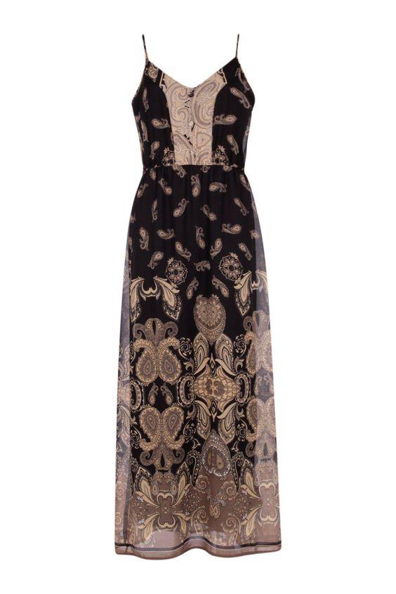 robe-longue-noire