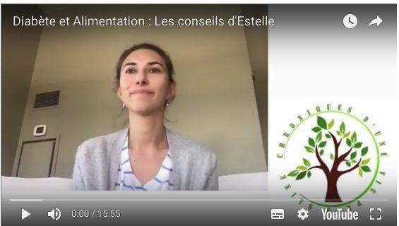 Diabète et alimentation : l'interview d'Estelle en vidéo
