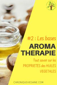 Comment choisir la bonne huile végétale pour vos synergies aroma ?