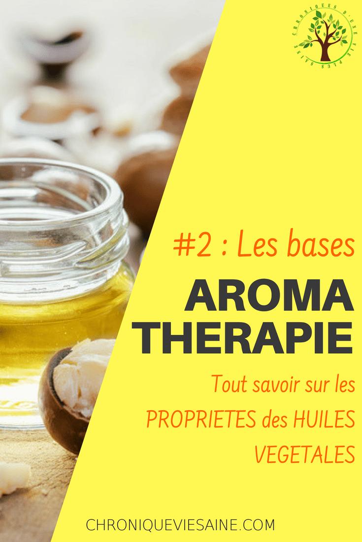 Les huiles végétales en aromathérapie. Découvrez leurs fabuleuses propriétés pour réaliser vos formules pour massage, soins et beauté