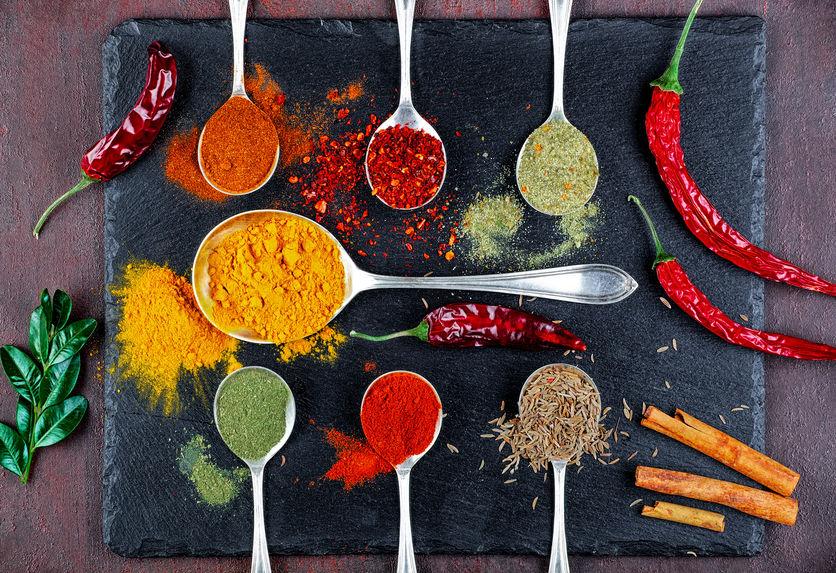 les épices donnent du gout et de la couleur à vos plats ; elles sont un excellent atout santé et une bonne alternative au sel et au sucre