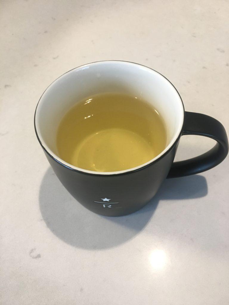 thé vert hydratant et plein d'antioxydants