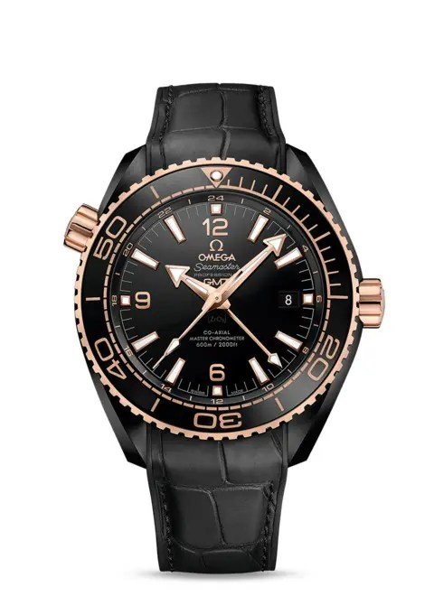 Omega Planet Ocean Deep Black Gold