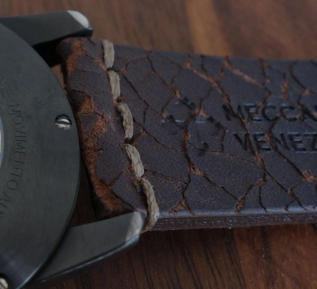 Meccaniche Veneziane Arsenale Handmade in Italy Vintage Leather Strap Lederband