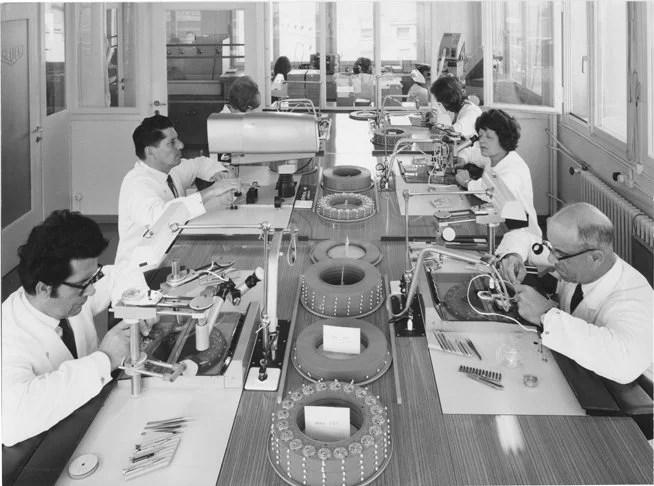 Heuer-Leonidas S.A. workshop