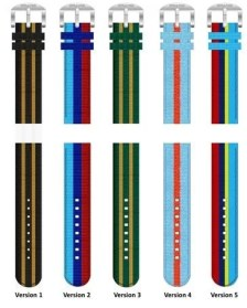 Straton Racing Stripes Strap