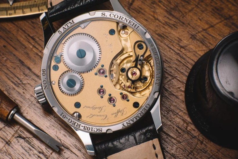 Steffen Cornehl Regulator-movement-SC103 Test