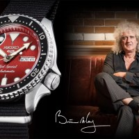 "We will Rock you!? Seiko 5 Sports Brian May ""Red Special"" (SRPE83K1) - limitiert und knackig-teuer"