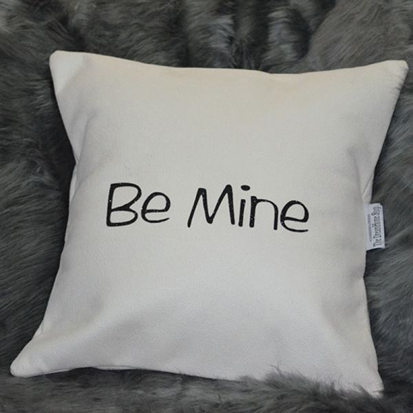 BeMine White throw pillow Chronos stores dreamhome shop seller