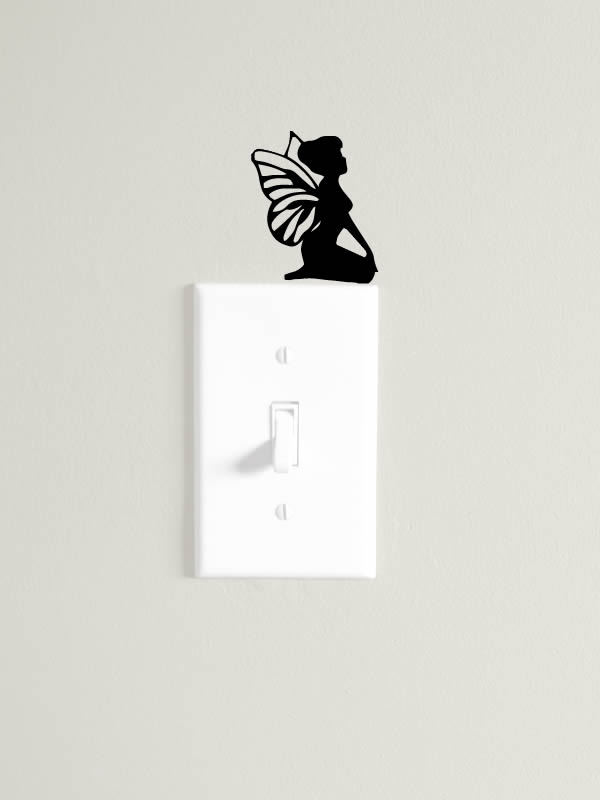 Tinkerbell Butterfly switch decal chronos stores