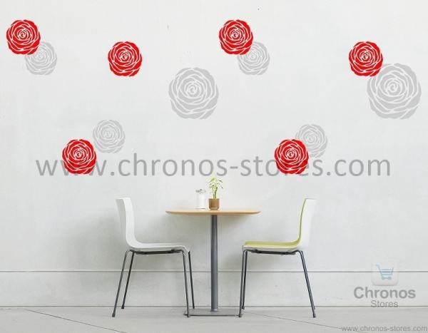 floral rose wall decal designs 2 chronos stores