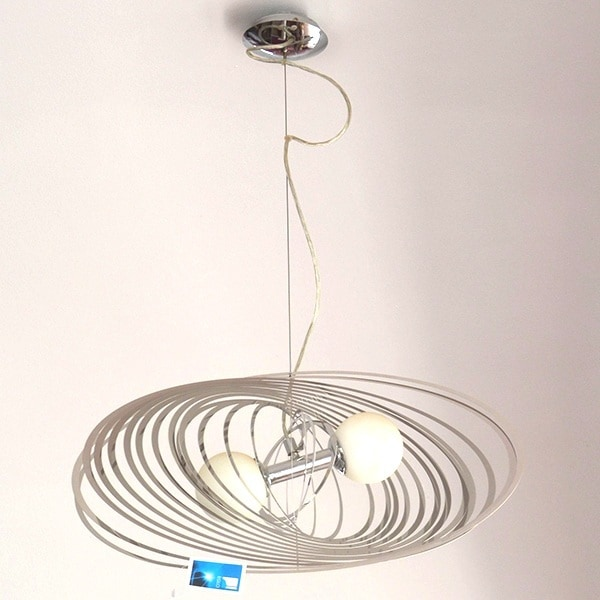 Tanwen Silver Pendant Light
