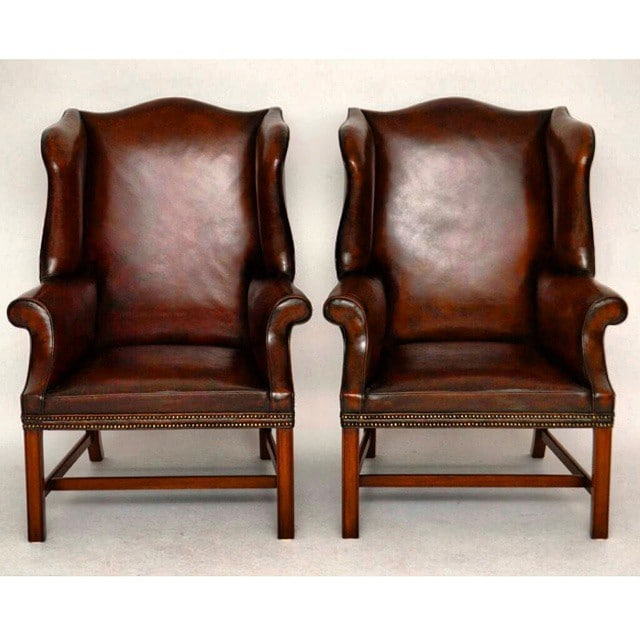 chippendale style wing back rh chronos stores com