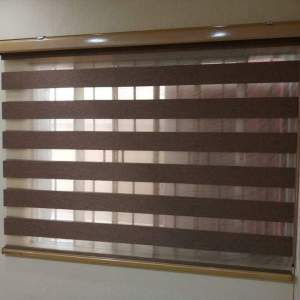 Bronze Gold High Quality Day and Night Blind